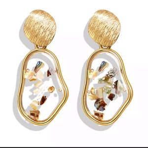 Abstract Drop Earrings-NWT-Gift Idea!